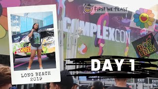 Complexcon: Day 1. Danced on stage with Lil Kim! tried Hot ones wings!
