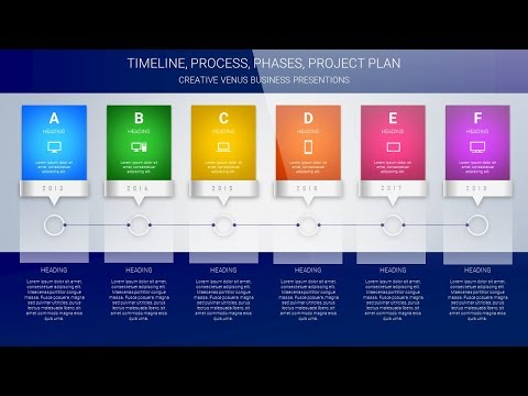 Design Timeline, Project Plan, Yearly Plan, Steps, Process Infographics in Microsoft PowerPoint PPT