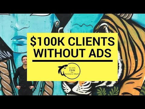 How To Get 100k Clients Off LinkedIn Without Advertising