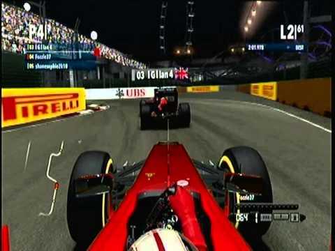 Singapore F1 2012 Xbox 360