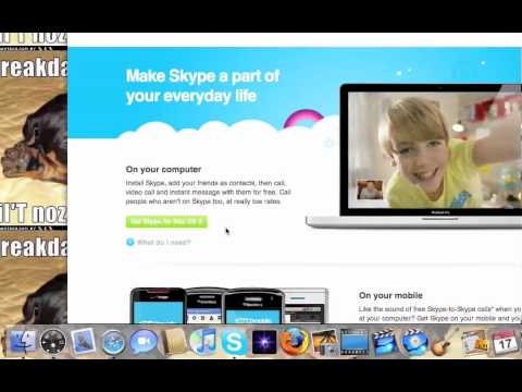 How To Install Skype For Mac!