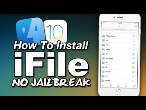 How to Install iFile on iOS 10.3.2 - iOS 11,NO JAILBREAK NO COMPUTER {iPhone , iPad 2017}