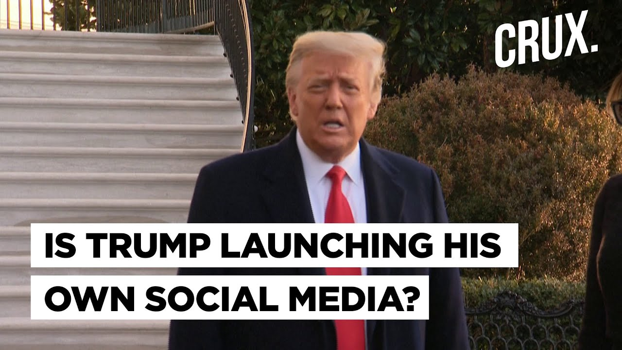 Fake News Drops With Trump's Twitter, Facebook Ban, But is He Launching His Own Social Site?