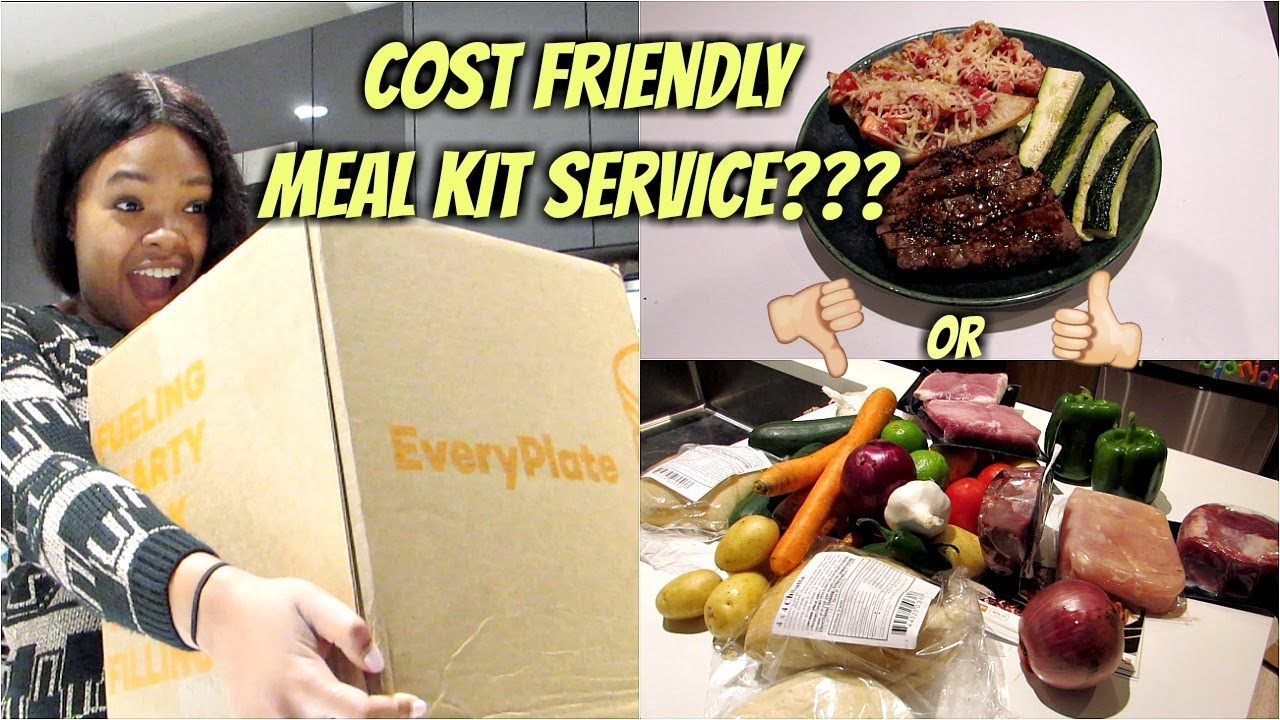 Everyplate Food Delivery Unboxing   Every Plate Review   Meal Kit Service