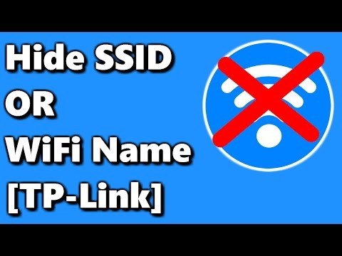 Hide SSID [WiFi Name] on TP-Link Router ✔