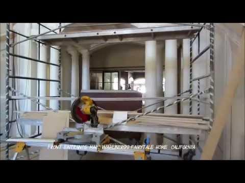 Robert Rowley Job Documentation High End Carpenter California Mark Wahlberg's Home