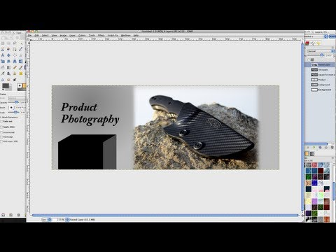 How to Make a Facebook Timeline Cover Photo in Gimp
