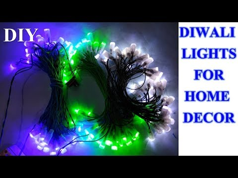 How to make decoration light || Diwali fancy light || made in India  light
