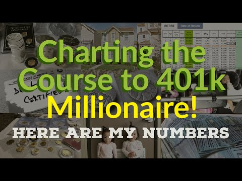 Charting the Course to 401k Millionaire! Here Are My Numbers!