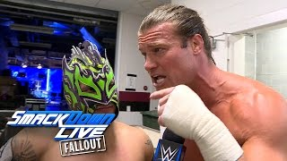 Dolph Ziggler & Kalisto talk Ladders and Chairs: SmackDown LIVE Fallout, Nov. 29, 2016
