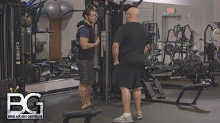 WWE Network: Head Coach Matt Bloom reflects on Baron Corbin's anger: WWE Breaking Ground