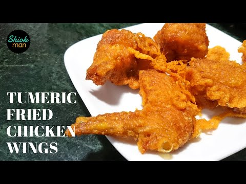 Shiokman Turmeric Fried Chicken Wings (Ayam Kunyit Goreng)