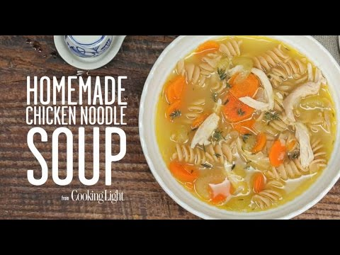 Homemade Chicken Noodle Soup   Cooking Light