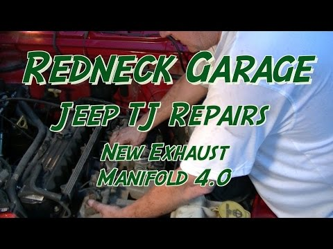 Jeep Wrangler TJ 4.0 Exhaust Manifold Replacement