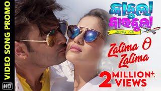 Zalima O Zalima | Video Song Promo | Kabula Barabula Searching Laila | Odia Movie | Anubhav | Elina