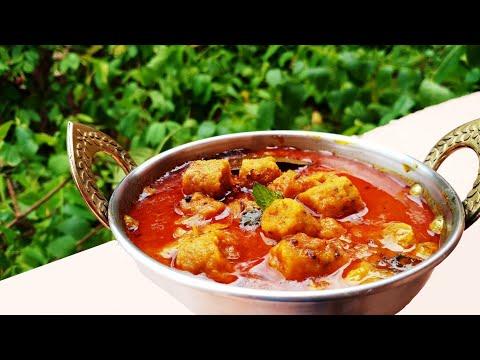 RajasthaniGatte Ki Sabzi Recipe In Hindi - स्वादिष्ट बेसन गट्टे की सब्ज़ी -Rajasthani Gatte Ki Sabzi