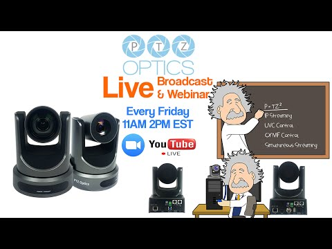 Live Streaming and Network Camera Control (EP 3)