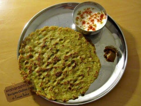 Dudhi / Lauki Thalipeeth (Multigrain flatbread with bottle gourd) - Maharashtrian Recipe