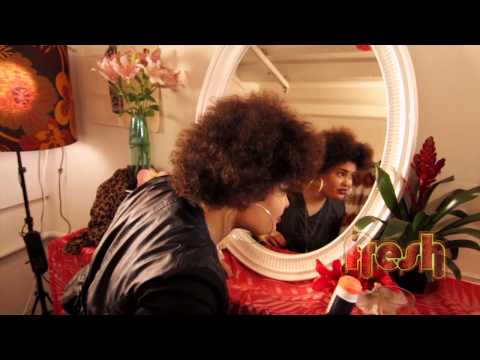 Hair Tips with Erakah how to keep that Afro looking Fresh