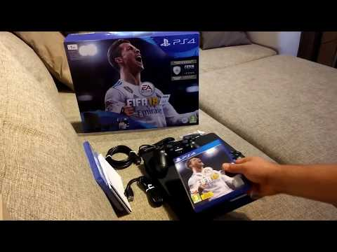 Unboxing before Christmas: PS4 FIFA 18