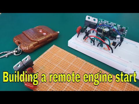 How to make a Universal Remote Engine Start