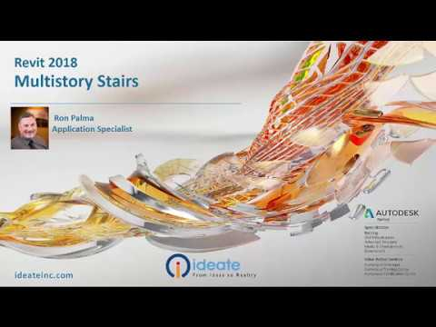 Revit 2018: Multistory Stairs