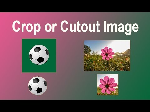How to Crop or Cut out Image in Microsoft PowerPoint 2017