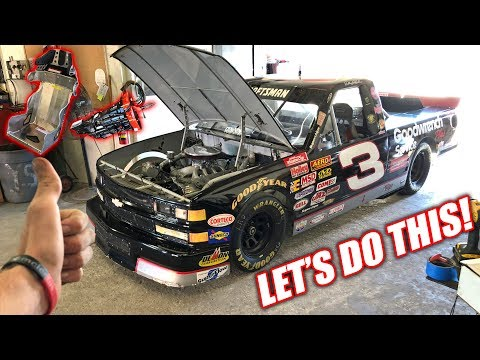 Dale Truck's FIRST MODS! (Street Legal NASCAR)