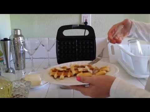 Rival 2-slice Waffle Maker How to Use RVS6128A_BW