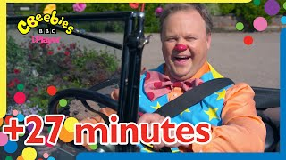 Mr Tumble's Vehicles Compilation   CBeebies +27 minutes