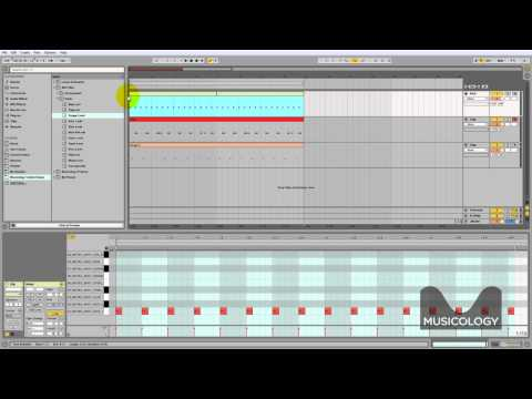 How To Make Techno House Drums Tutorial in Ableton Live 9 Musicology Online