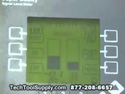 Using Super Buddy Satellite Meter with DirecTV
