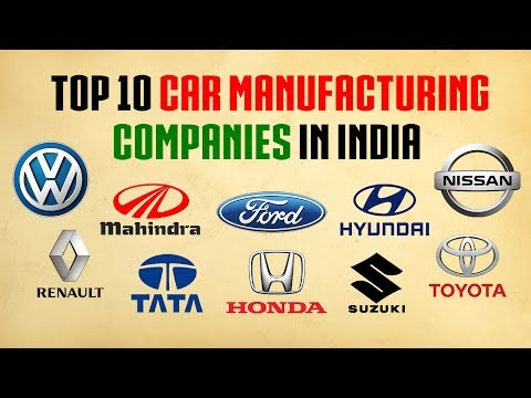Top 10 Car Manufacturing Companies in India | Top 10 car manufacturers in India