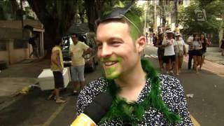 Carnaval paulista atrai cada vez mais estrangeiros