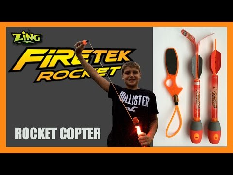 Air Storm FIRETEK Rocket Copter
