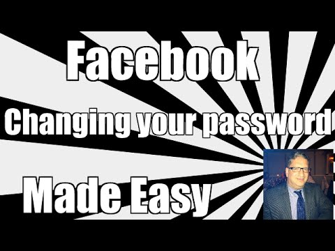 How To Change Your Facebook Password - Changing your password in Facebook