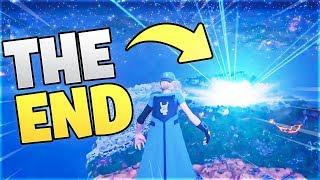 Fortnite got DELETED... (Fortnite THE END Event)