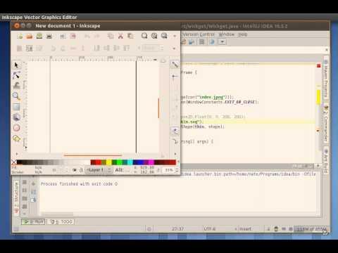 How to develop a desktop widget with Java