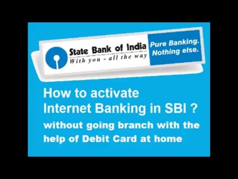 Register yourself on SBI net banking at home no need to go any branchs or fillup any form  #Sbi
