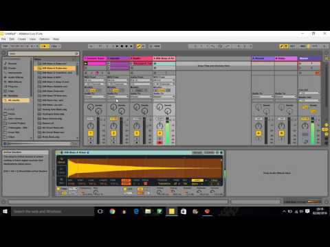How to make a Trap beat on Ableton live 9 (part 1)