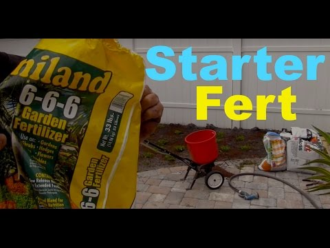 Lawn Starter Fertilizer FAQ + Update