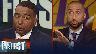 Cris and Nick take their sides in GOAT convo between Jordan and LeBron | NBA | FIRST THINGS FIRST