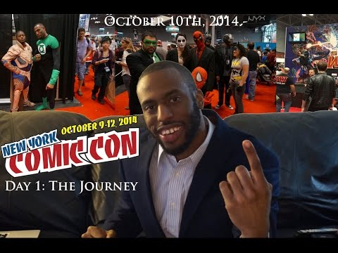 New York Comic-Con 2014 - Day 1: The Journey (NYCC 2014)