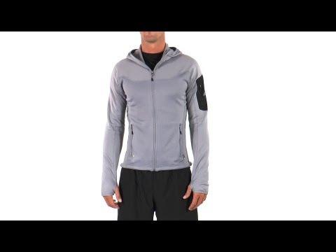 Adidas Men's Terrex Stockhorn Cocona Fleece Running Hoodie | SwimOutlet.com