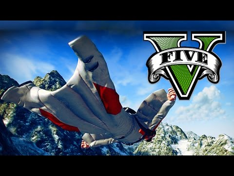 GTA 5 INSANE SKYDIVE MONTAGE!
