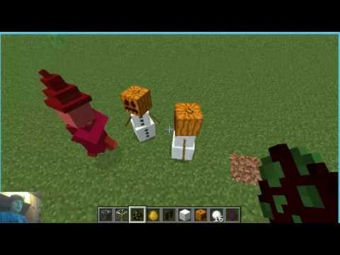 Minecraft - How to make a live snowman