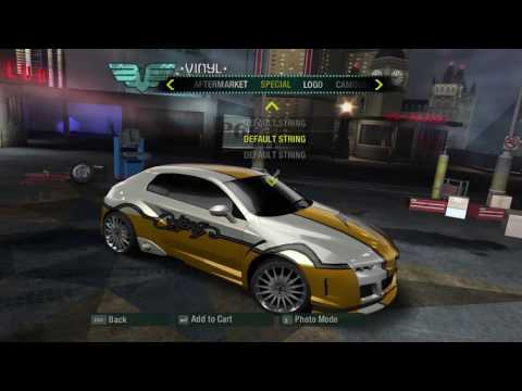 NFS Carbon - Special Vinyls and Virus Category