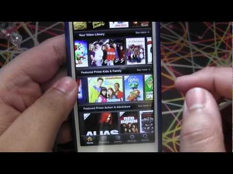 Amazon Instant Video App For iPhone And iPod Touch