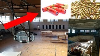 FOUND BULLETS IN ABANDONED SCHOOL!! We Could Not Believe What We Found In This Abandoned School!