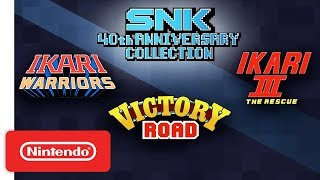 Ikari Trilogy Trailer - SNK 40th Anniversary Collection - Nintendo Switch